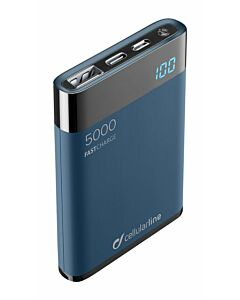 Cellularline Powerbank Freepower manta HD 5000mAh black