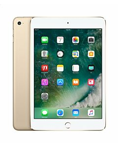 iPad Mini 4 16GB Wifi + 4G Gold Refurbished 4*