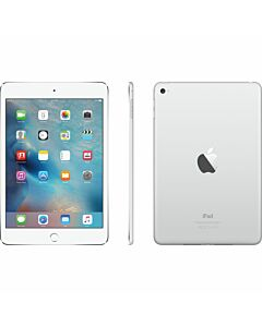 iPad Mini 4 16GB Wifi + 4G Silver Refurbished 4*
