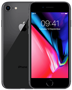iPhone 8 64GB Space Grey Refurbished 3*