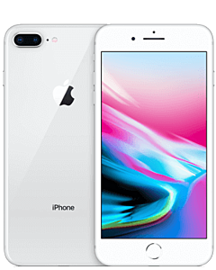 iPhone 8 Plus 256GB Silver Refurbished 5*