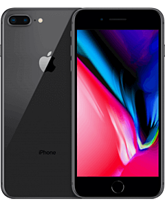 iPhone 8 Plus 64GB Space Grey Refurbished 5*