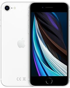 iPhone SE 2020 128GB White Refurbished 3*