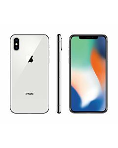 iPhone X 256GB Silver Refurbished 3*