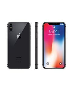 iPhone X 256GB Space Grey Refurbished 5*