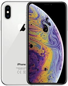 iPhone XS Max 256GB Silver Refurbished 5*