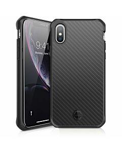 ITSKINS iPhone XR, case Hybrid Fusion (carbon), black