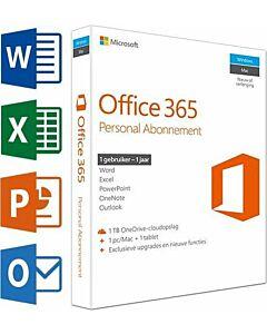 Microsoft Office 365 Personal Nederlands 1 jaar