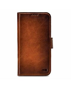 Senza Desire Leather Wallet Apple iPhone X/Xs Burned Cognac