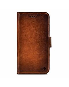 Senza Pure Leather Wallet Apple iPhone 7/8 Burned Cognac